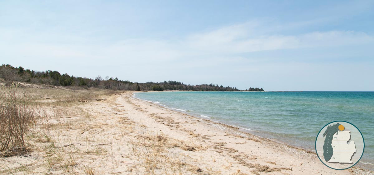 STURGEON BAY DUNES AT WILDERNESS STATE PARK