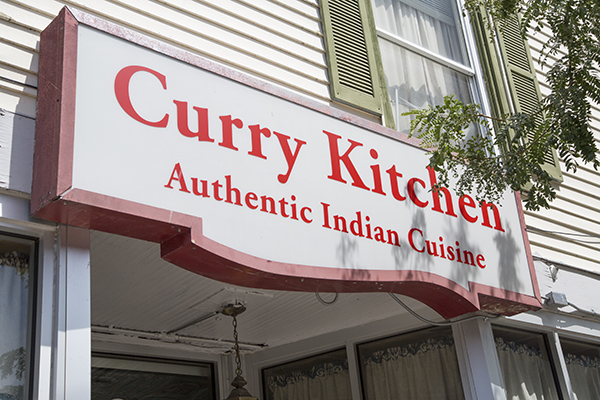 Curry Kitchen Signage