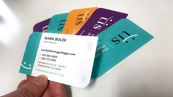 Sustainable Business Cards
