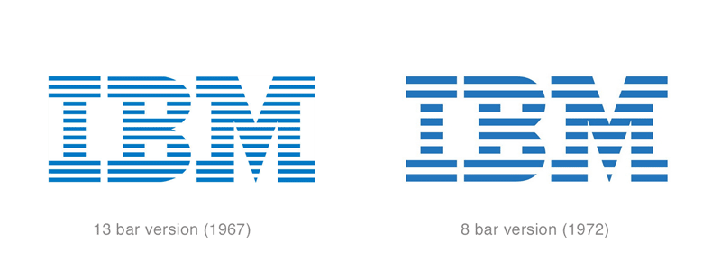 IBM Updated Logo