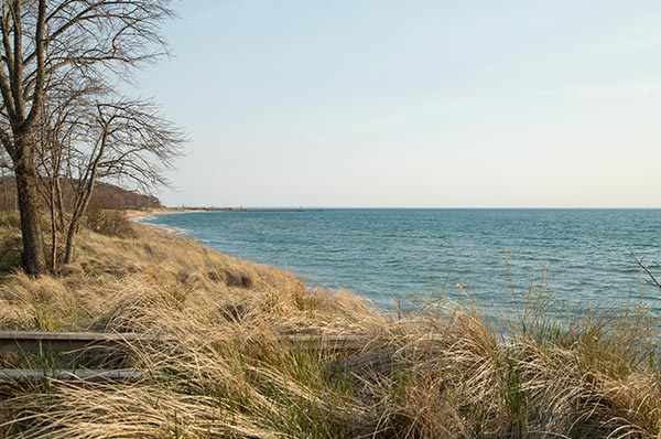 Arcadia Beach at Lake Michigan