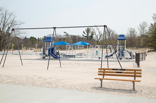 Charles Mears State Park playground