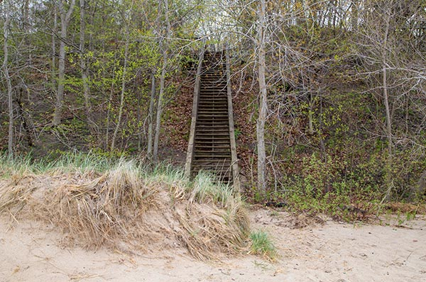 Cherry Beach staircase