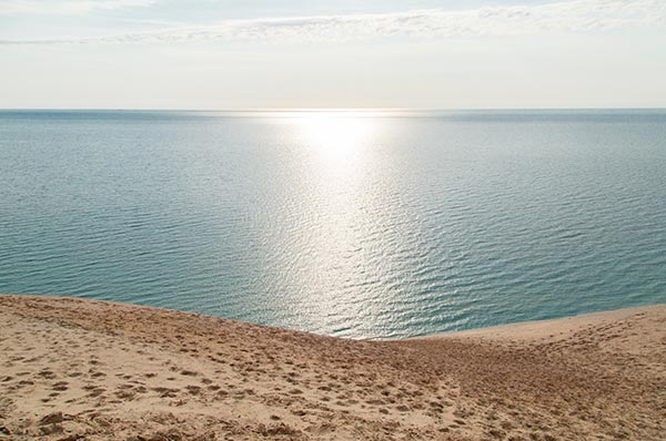 Sleeping Bear Dunes Lake Michigan view