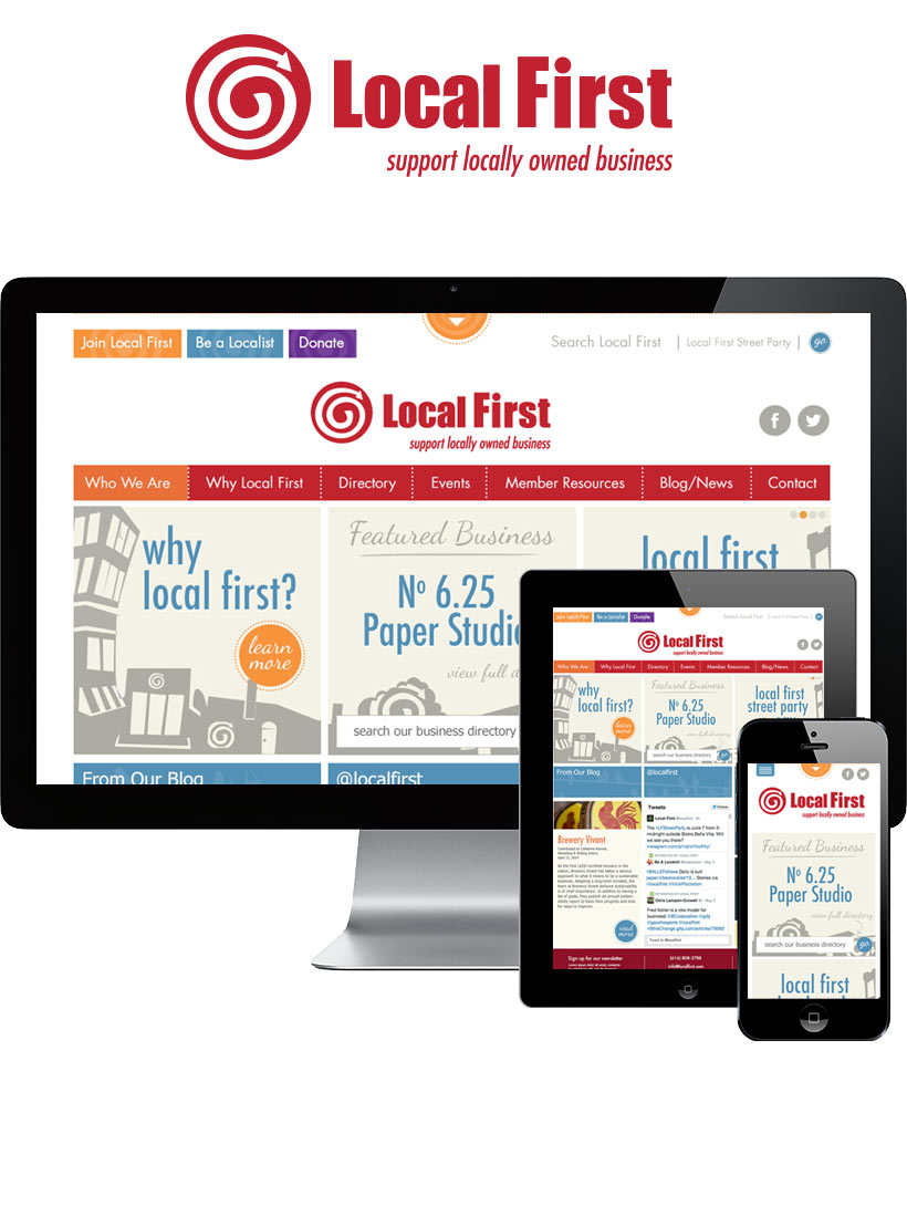 Local First Responsive Website Design