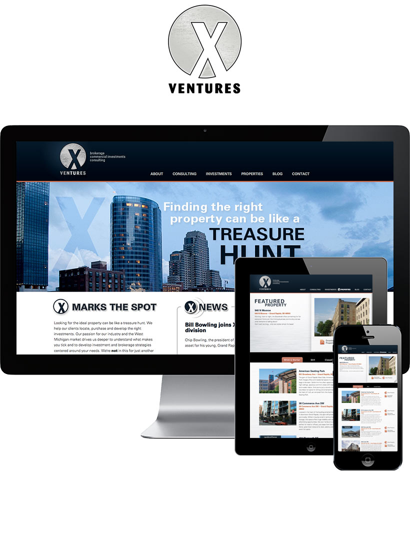 X Ventures Website Design & Development